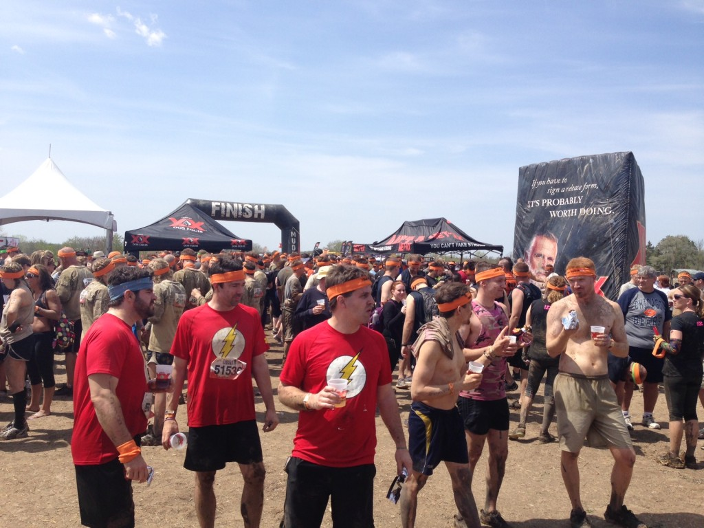 Finishers of Tough Mudder Chicago/Photo: Zach Freeman