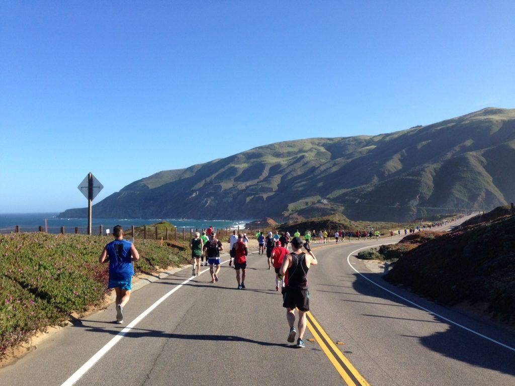 Big Sur International Marathon course/Photo: Zach Freeman
