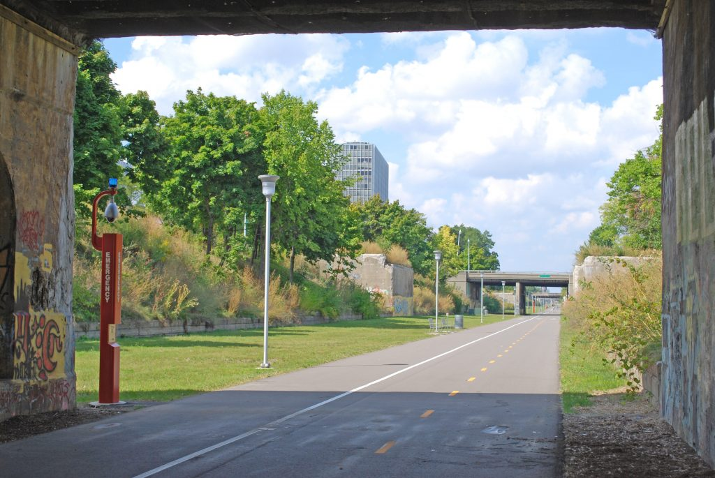 Dequindre Cut/Photo: Andrew Jameson
