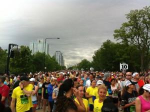 Soldier Field 10 Mile start