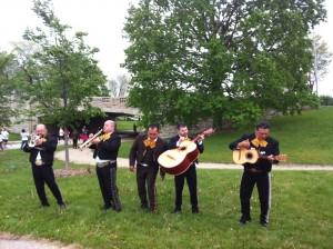 Mariachi band at Cinco de Miler