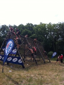 Obstacle in the Warrior Dash