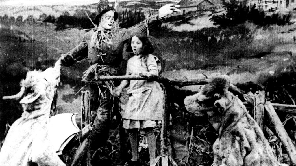 The Wonderful Wizard of Oz was first made into a movie in 1910, in Chicago, by the Chicago-based Selig Polyscope Company