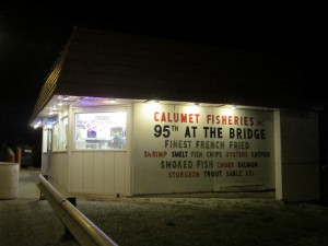 Calumet Fisheries. Photo: John Greenfield
