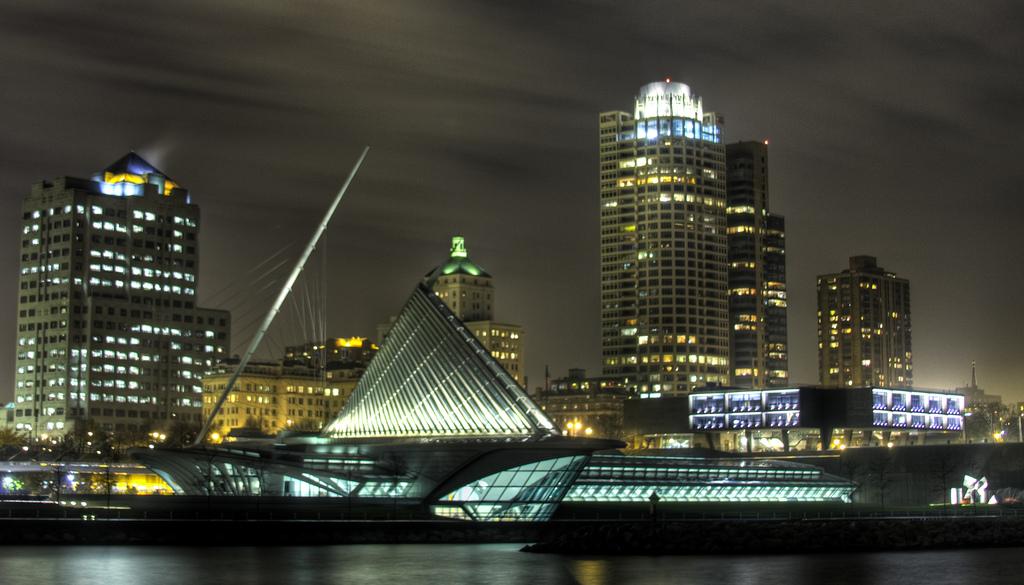 Milwaukee at Night