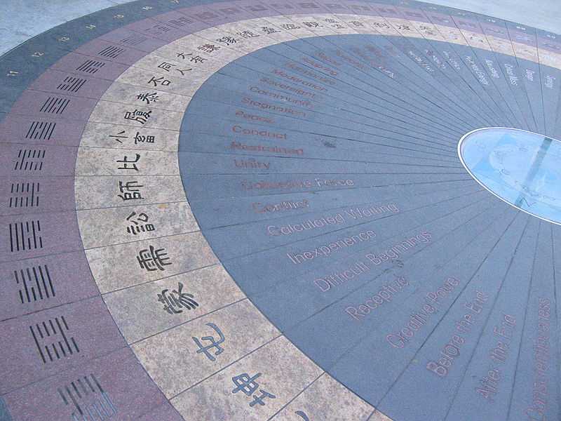 A feng shui spiral in Chinatown. Los Angeles, CA, USA. Photo: Arnold C